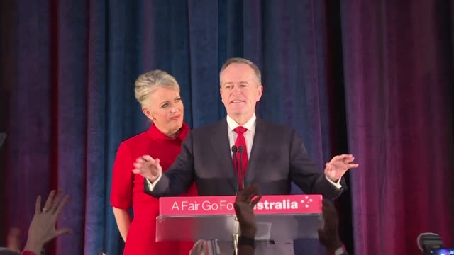 AUS: Australian Labor leader concedes, resigns after shock poll defeat