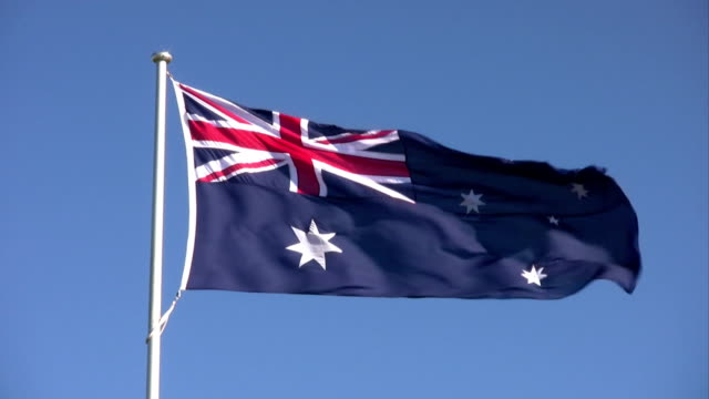 australian flag - government stock videos & royalty-free footage
