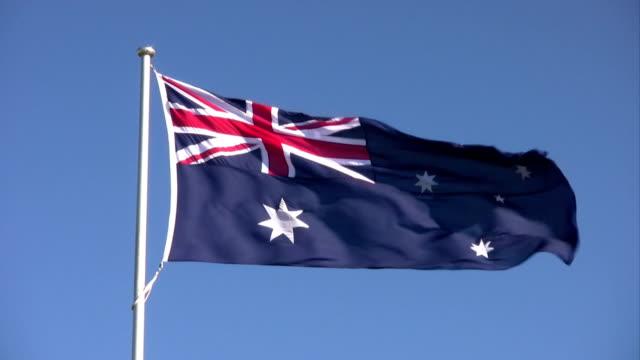 australian flag - politics stock videos & royalty-free footage