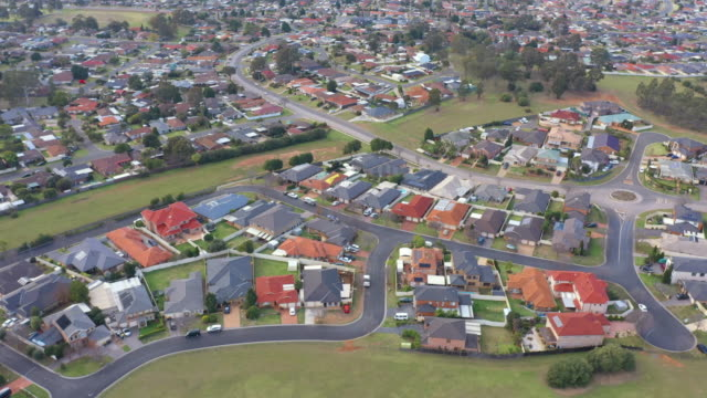 australian housing estate - sydney australia stock videos and b-roll footage
