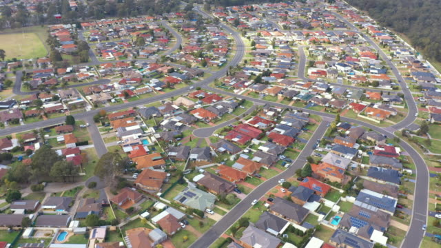 australian housing estate - sydney stock videos & royalty-free footage