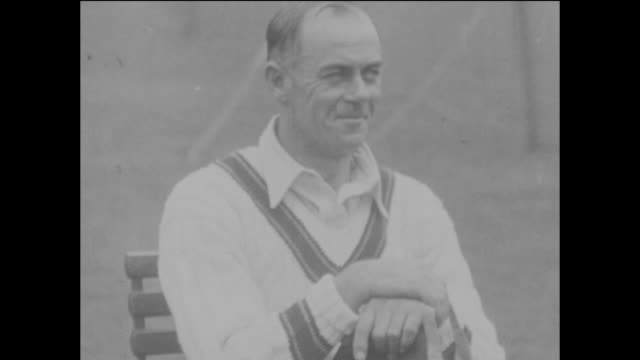 Australian opening batsman Warren Bardsley who scored 193 not out in the first innings of the 2nd Ashes Test match between England and Australia at...