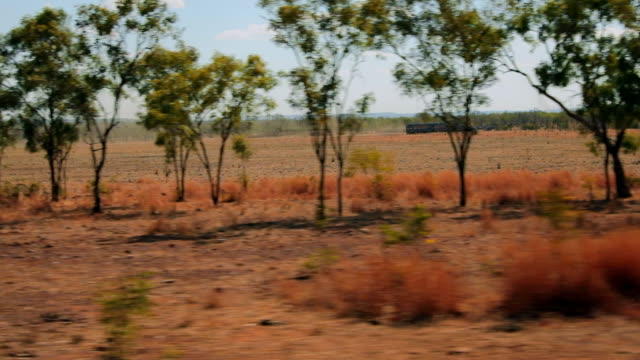 pov australian outback landscapes from car - outback stock videos & royalty-free footage