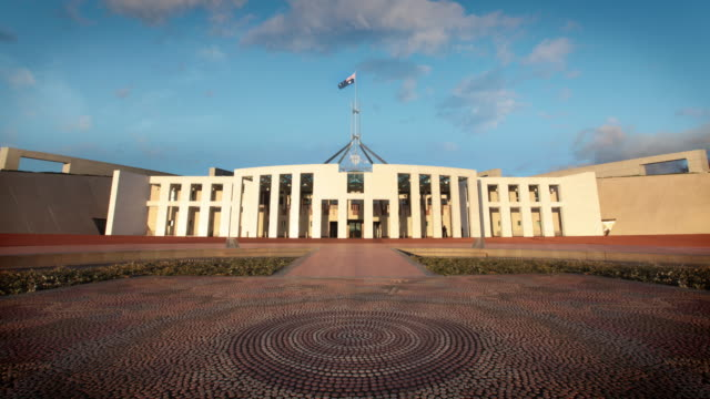 australian parliament house, canberra, australia - politics stock videos & royalty-free footage