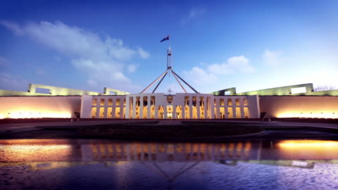 australian parliament house, canberra, australia - parliament building stock videos & royalty-free footage