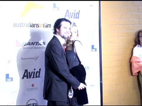 australians in film '08 breakthrough awards los angeles ca 6/6/08 - event capsule stock videos & royalty-free footage