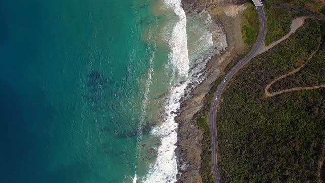 australia's great ocean road - victoria australia stock videos & royalty-free footage