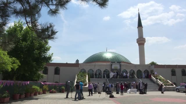 austria could expel up to 60 turkish funded imams and their families as part of a crackdown on political islam - austria stock videos & royalty-free footage