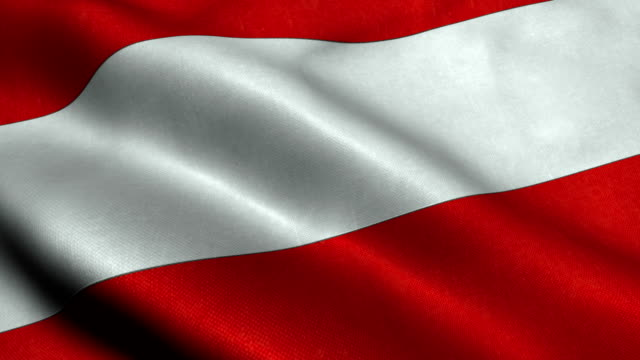 austria flag - austrian culture stock videos and b-roll footage