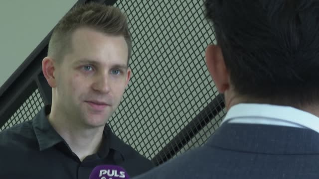 austrian activist max schrems hails a top eu court decision which invalidates a crucial online data arrangement between europe and the us - traditionally austrian stock videos & royalty-free footage
