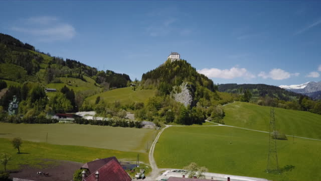 Austrian Castle Strechau in Styria