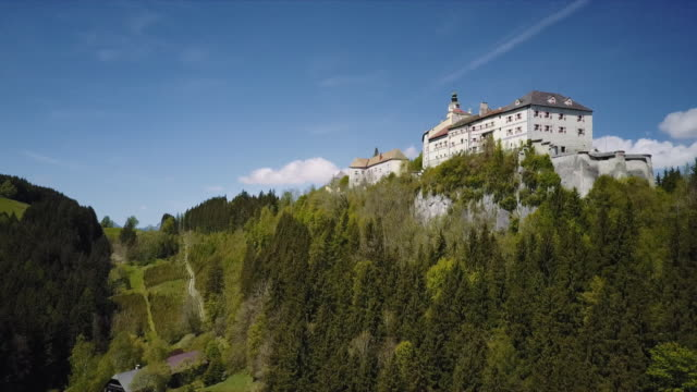 austrian castle strechau in styria - austria stock videos & royalty-free footage