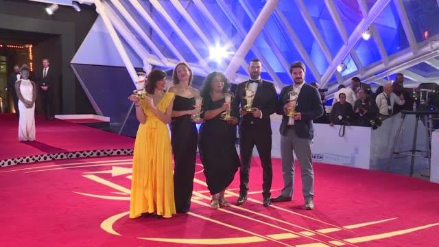 vídeos y material grabado en eventos de stock de austrian filmmaker sudabeh mortezai's joy an unflinching look at migrant sex workers in europe wins top prize at the marrakesh film festival in... - cultura austríaca