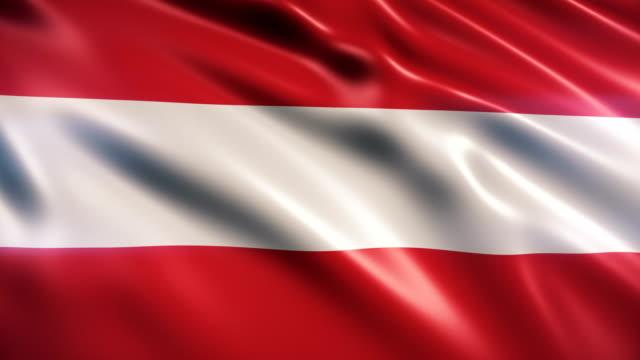 österreichische flagge - austria flag stock-videos und b-roll-filmmaterial