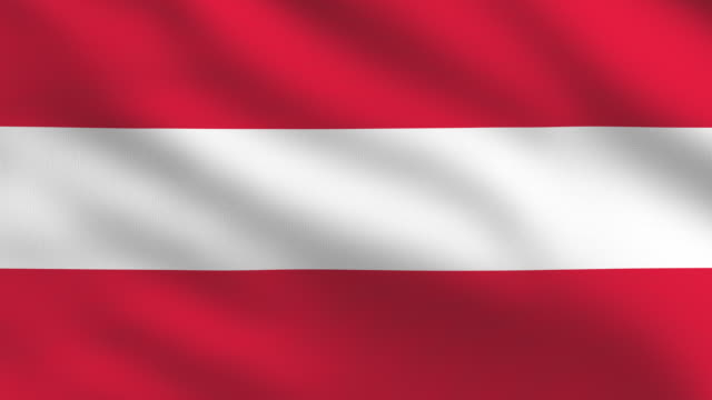 austrian flag - austrian culture stock videos & royalty-free footage