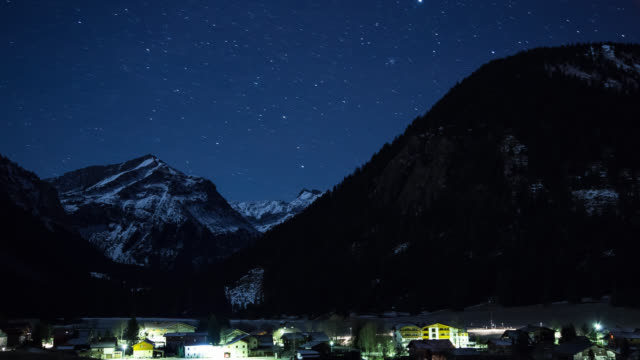 Austrian mountain village