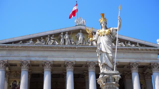 Austrian Parliament - 4k