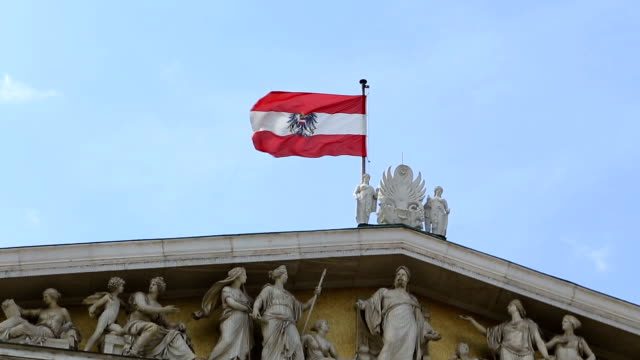austrian parliament vienna - austrian culture stock videos & royalty-free footage
