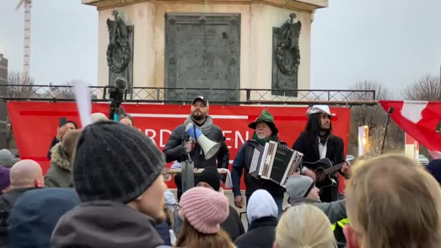austrians gathered in the capital vienna on saturday, dec. 19, in a protest against the government measures taken to stop the spread of coronavirus.... - austria stock videos & royalty-free footage