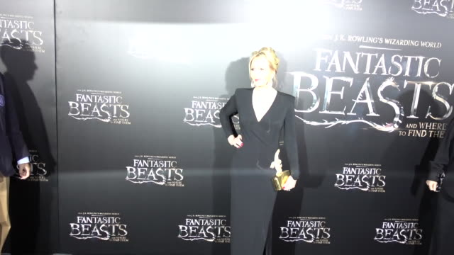 author jk rowling attends the 'fantastic beasts and where to find them' world premiere at alice tully hall lincoln center on november 10 2016 in new... - j.k. rowling stock videos and b-roll footage
