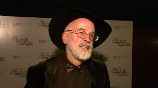 Author Terry Pratchett on making the film version of his best selling book and on bringing his imagination to life at the The Colour of Magic...