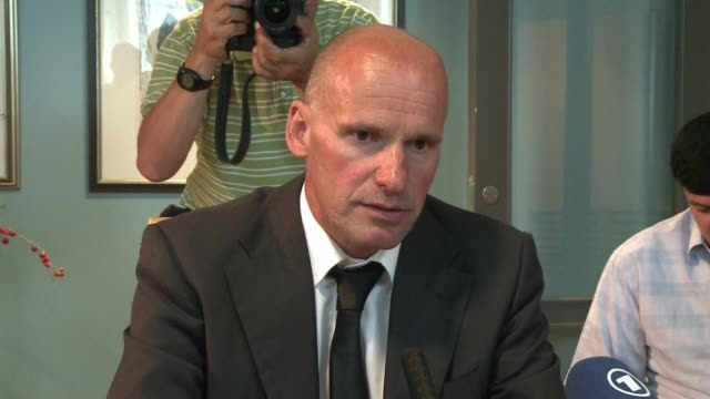 stockvideo's en b-roll-footage met authorities are considering charging anders behring breivik with crimes against humanity over the massacre in norway oslo oslo norway - anders behring breivik
