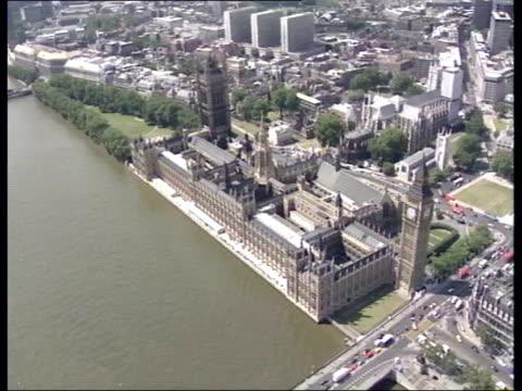 authorities foil al qaida plot/parliament attack allegations lib london westminster houses of parliament - al qaida stock videos & royalty-free footage