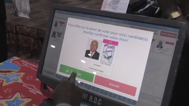 Authorities in the Democratic Republic of Congo defend their electronic voting machines which have caused controversy after the United States warned...