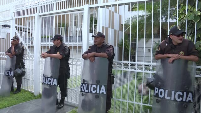 Authorities raid on Monday a branch of Mossack Fonseca in Lima