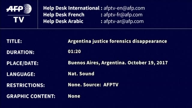 authorities transferred a corpse found in chubut province in southern argentina to the judicial morgue in buenos aires on thursday for an autopsy... - buenos aires province stock videos & royalty-free footage