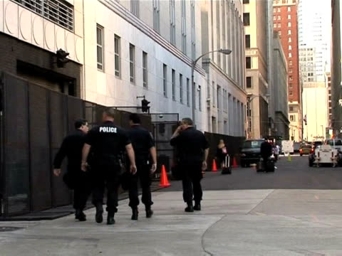 authorities were rolling out security measures wednesday as leaders of the world's largest economies descend on pittsburgh for the g20 summit this... - g20 leaders' summit stock videos & royalty-free footage