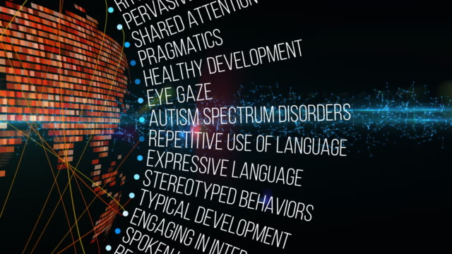 autism terms - intellectual disability stock videos & royalty-free footage