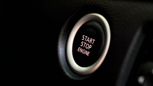 bouton de démarrage moteur auto voiture pour entrée sans clé