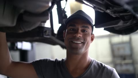 auto service latin afro worker / owner - quality control stock videos & royalty-free footage