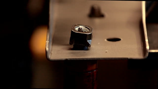 auto spot nut welding - nut food stock videos & royalty-free footage