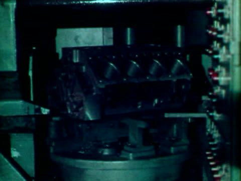 automated machining processes - machinery stock videos & royalty-free footage
