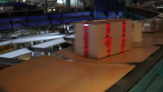 Automated Parcel Sorting in a Parcel Distribution Center