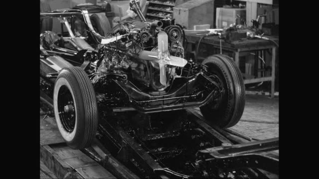 MS Automated production line in car factory / United States