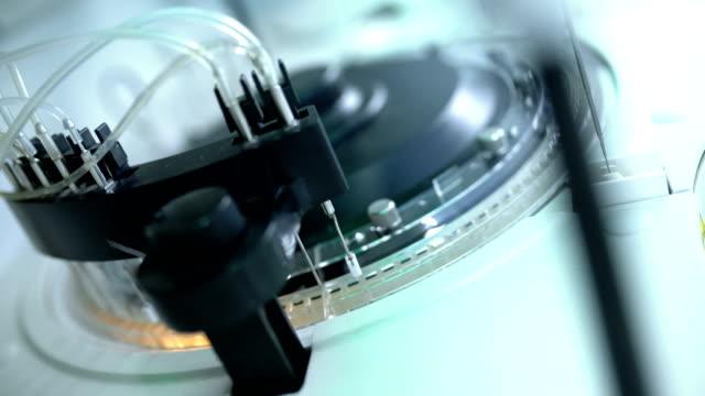 automatic blood analyzer machine. - accuracy stock videos & royalty-free footage