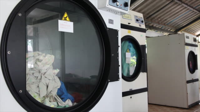 automatic clean washing machine. - washer stock videos and b-roll footage