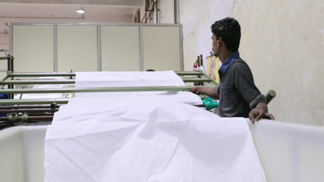 automatic textile industry machine in operation at a factory - silk stock videos & royalty-free footage