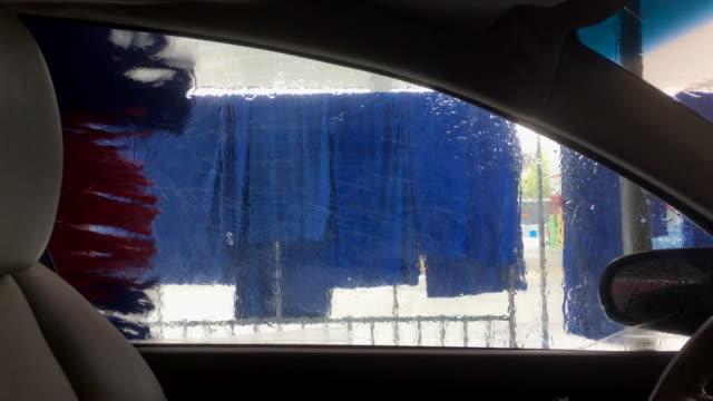 automatic washing car - car wash stock videos & royalty-free footage