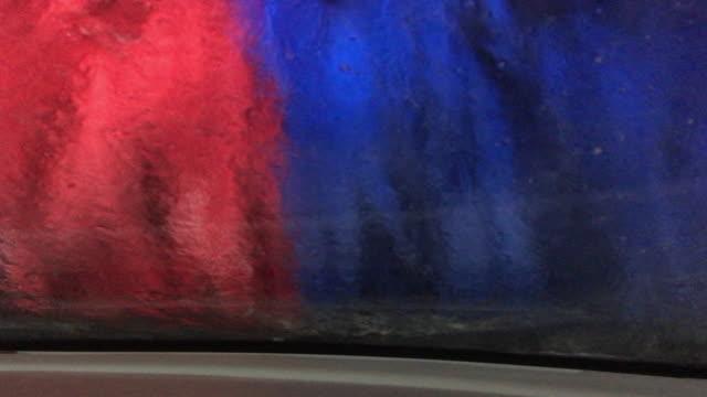 automatic washing car - interno di veicolo video stock e b–roll