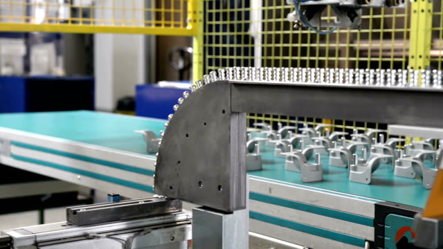 automatized production line in factory - czech republic stock videos & royalty-free footage