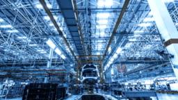 Automobile factory production equipment
