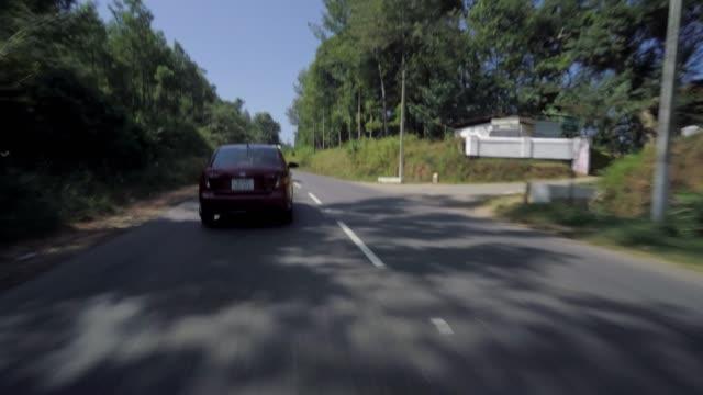 自動車高速道路走行