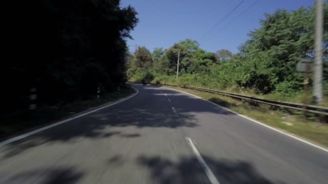 Automobile highway driving