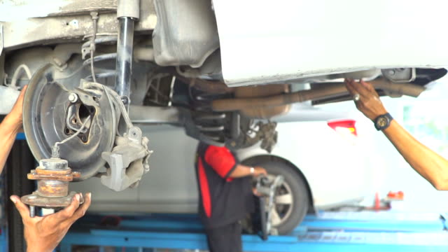 automobile repair shop - tire vehicle part stock videos and b-roll footage