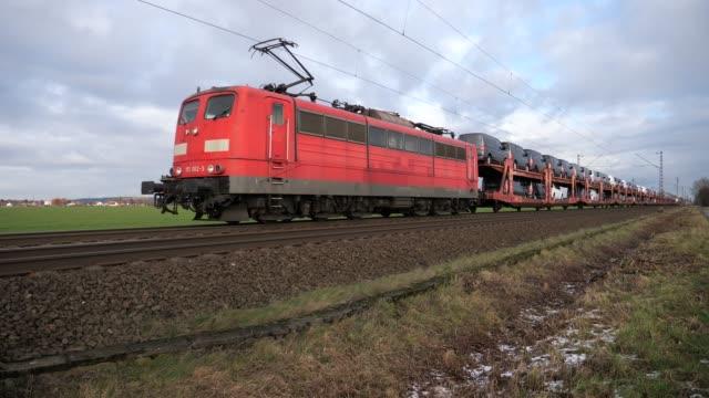 Autotrein van de Deutsche Bahn tussen Osnabrück en Hannover