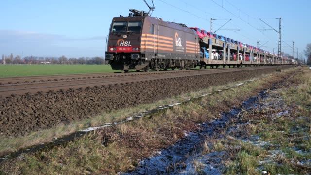 Autotrein van HSL tussen Osnabrück en Hannover